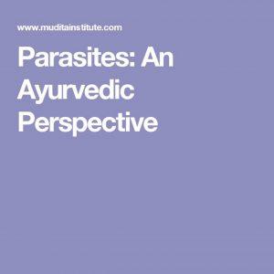 Parasites and Ayurveda @ Natural Grocers - Boulder  | Boulder | Colorado | United States