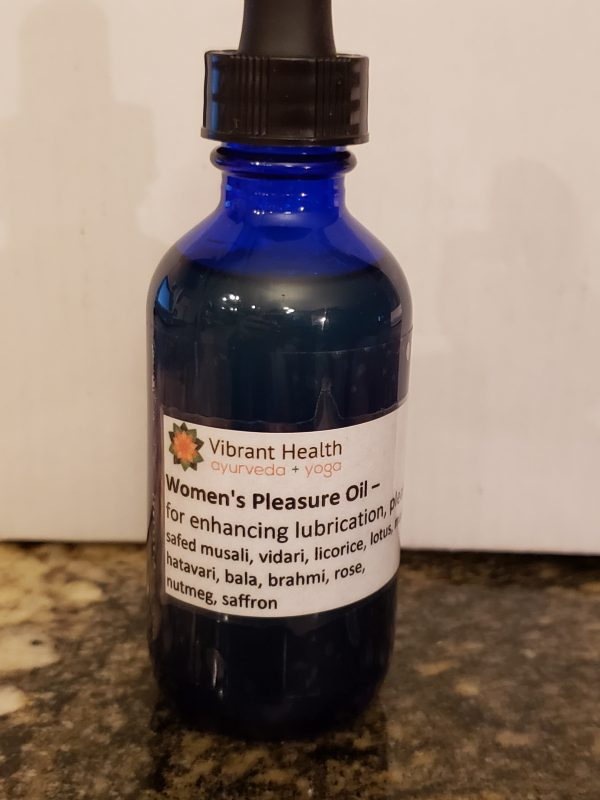 Womens Pleasure Oil - Ayurvedic Therapy and Treatments